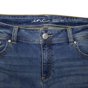 Inc Denim Jeans - Inc Denim Distressed Stretch Skinny Jean Size 14